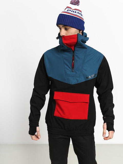 Majesty Anorak Snowboard jacket (black/red/blue)