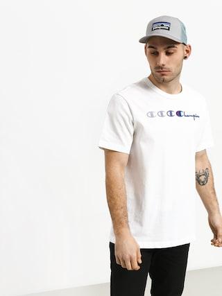 Champion Crewneck T Shirt T-shirt (wht)