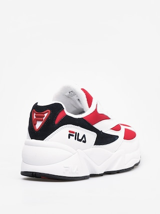 Fila Venom Low Shoes (white/fila navy/fila red)