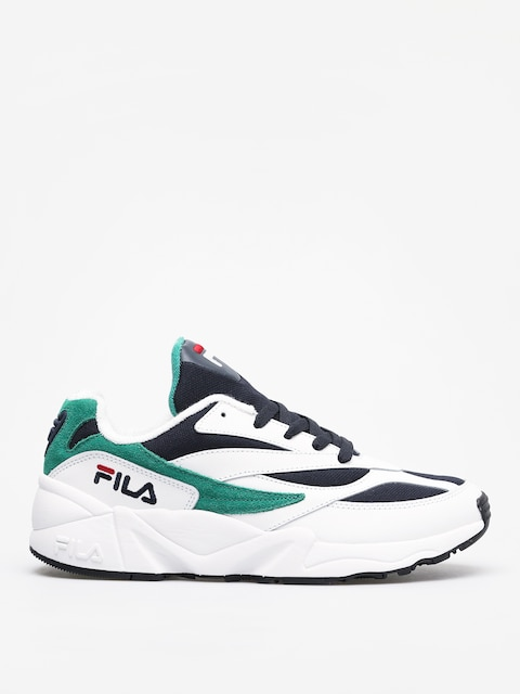 Fila Venom Low Shoes (white/fila navy/shady glade)