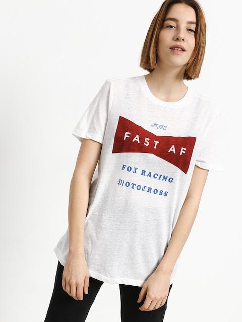 Fox T-shirt Fast Af Wmn