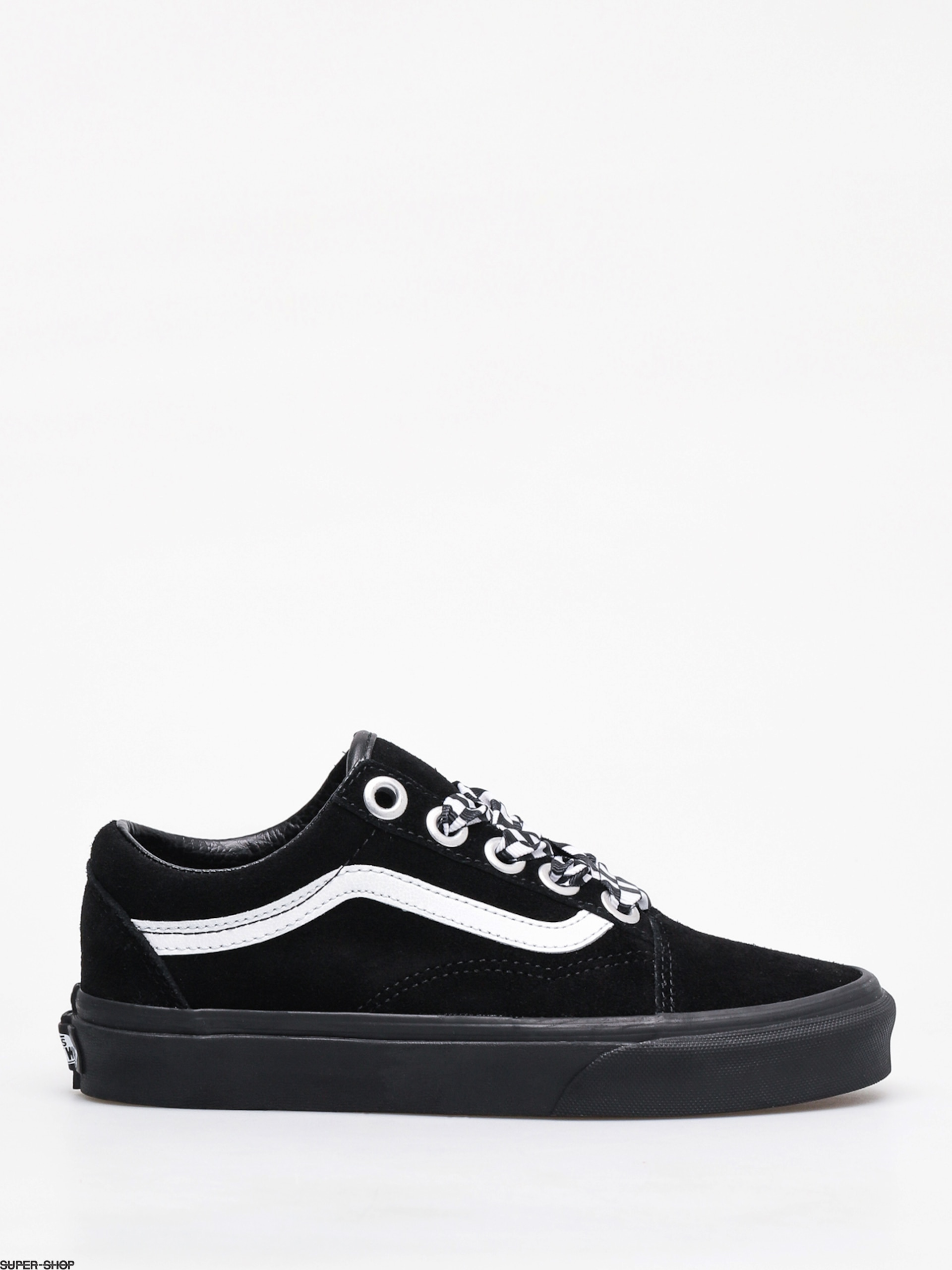 Vans Old Skool Shoes (check lace)