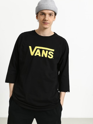 Vans Classic Raglan T-shirt (black/black/sunny lime)