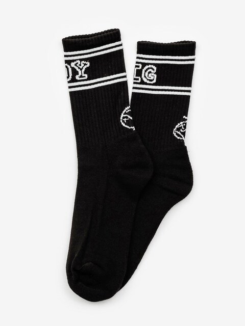 Polar Skate Big Boy Socks (black/white)