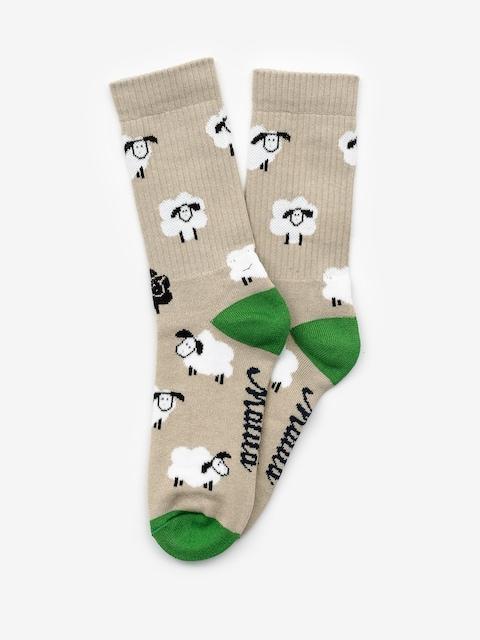 Malita Sheep Socks (biege)