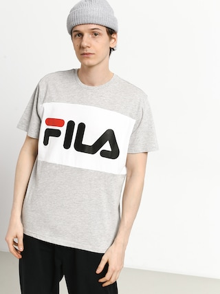 Fila Day T-shirt (light grey melange bros/bright white)
