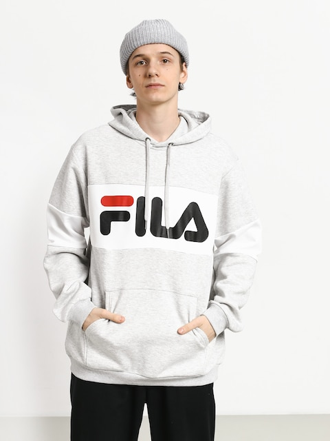 Fila Night HD Hoodie (light grey melange bros/bright white)