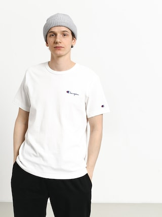 Champion Premium Reverse Weave Left Chest Logo T-shirt (wht)