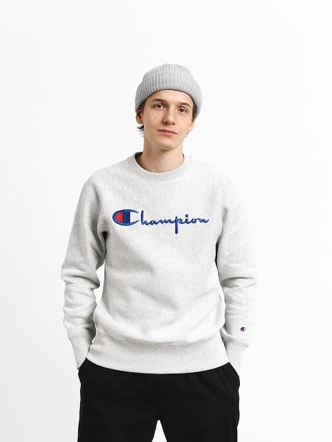 Champion Premium Reverse Weave Big Logo Crewneck Sweatshirt (loxgm)