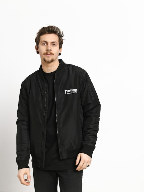 Thrasher Bomber Jacket (black)