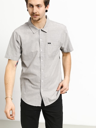 Brixton Charter Oxford Wvn Shirt (grey)