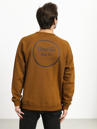 Brixton Wheeler Intl Crew Sweatshirt (washed copper)
