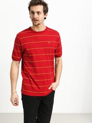 Brixton B Shield T-shirt (scarlet)