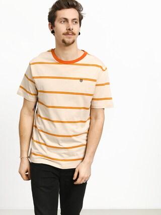 Brixton Deputy T-shirt (orange/tan)
