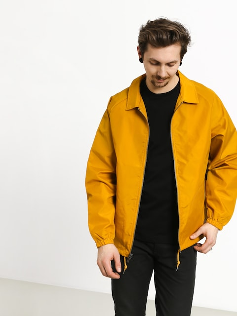 Brixton Claxton Collar Jacket (nugget gold)
