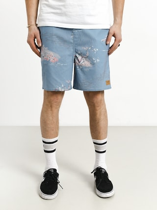 Brixton Havana Trunk Shorts (blue dream)