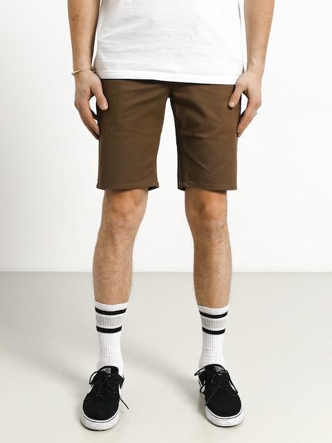 Brixton Toil II Hemmed Shorts (dark khaki)