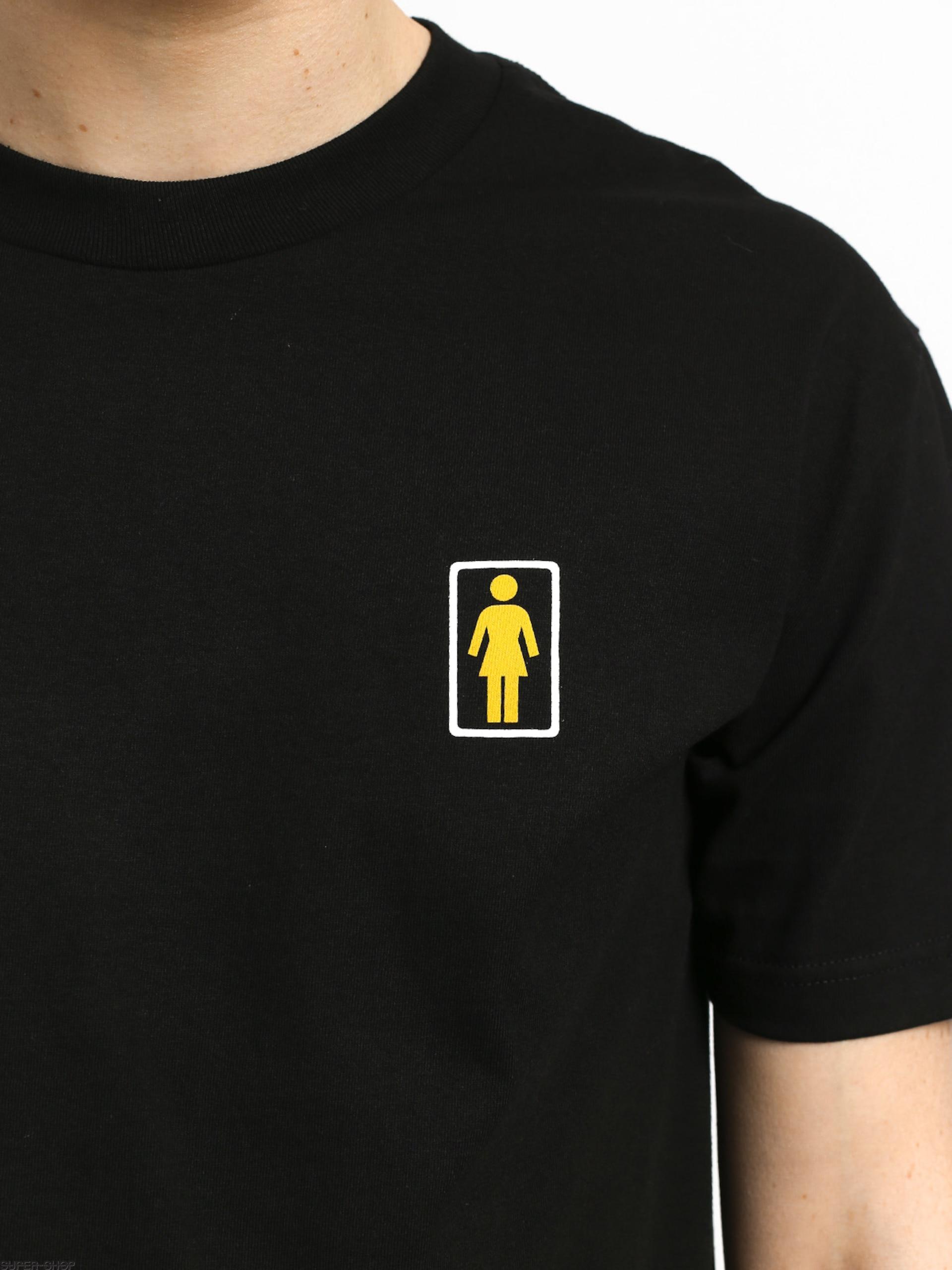 Girl Skateboard Kodak Gold 400 T-shirt (black)
