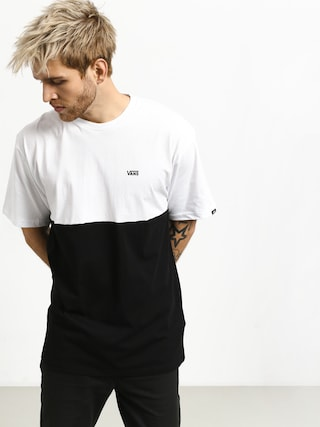911128f13 ... Vans ColorBlock T-shirt (white/black) ...