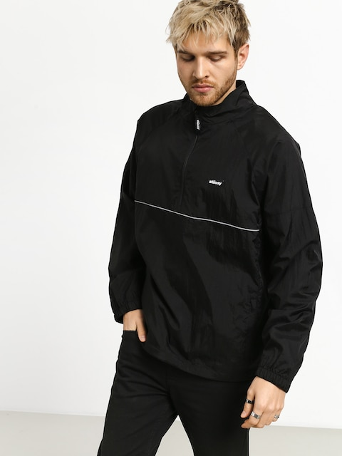 Stussy Sport Pullover Jacket (black)