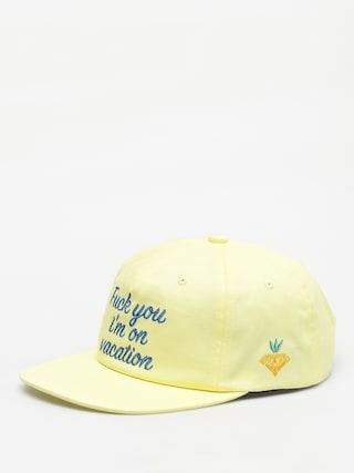 Diamond Supply Co. Diamond Resort ZD Cap (yellow)