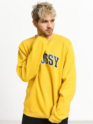 Stussy Arch App. Sweatshirt (yellow)
