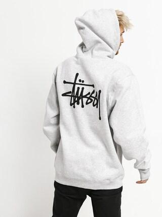 Stussy Basic HD Hoodie (ash heather)