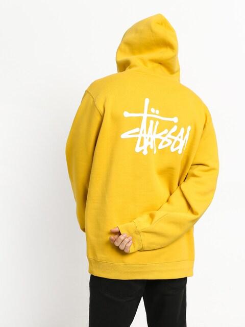 Stussy Basic HD Hoodie (yellow)