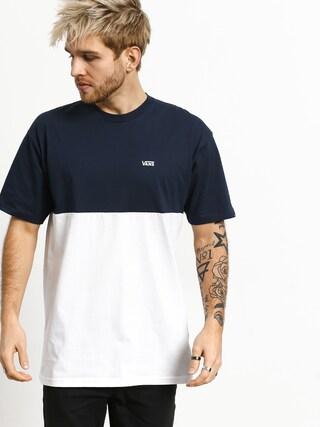 Vans ColorBlock T-shirt (dress blues/white)