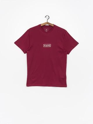 Vans Easy Box T-shirt (rhumba red/white)