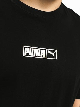 Puma Graphic Logo N 2 T-shirt (cotton black/gold foil)