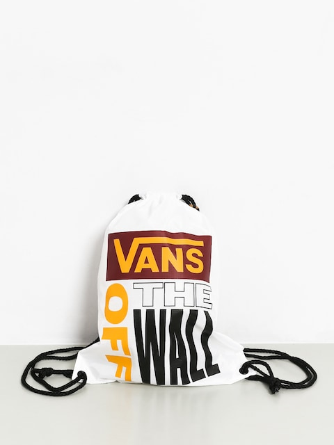 Vans League Bench Backpack (white/rhumba red)