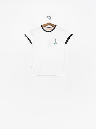 Femi Stories Leona T-shirt Wmn (wht)