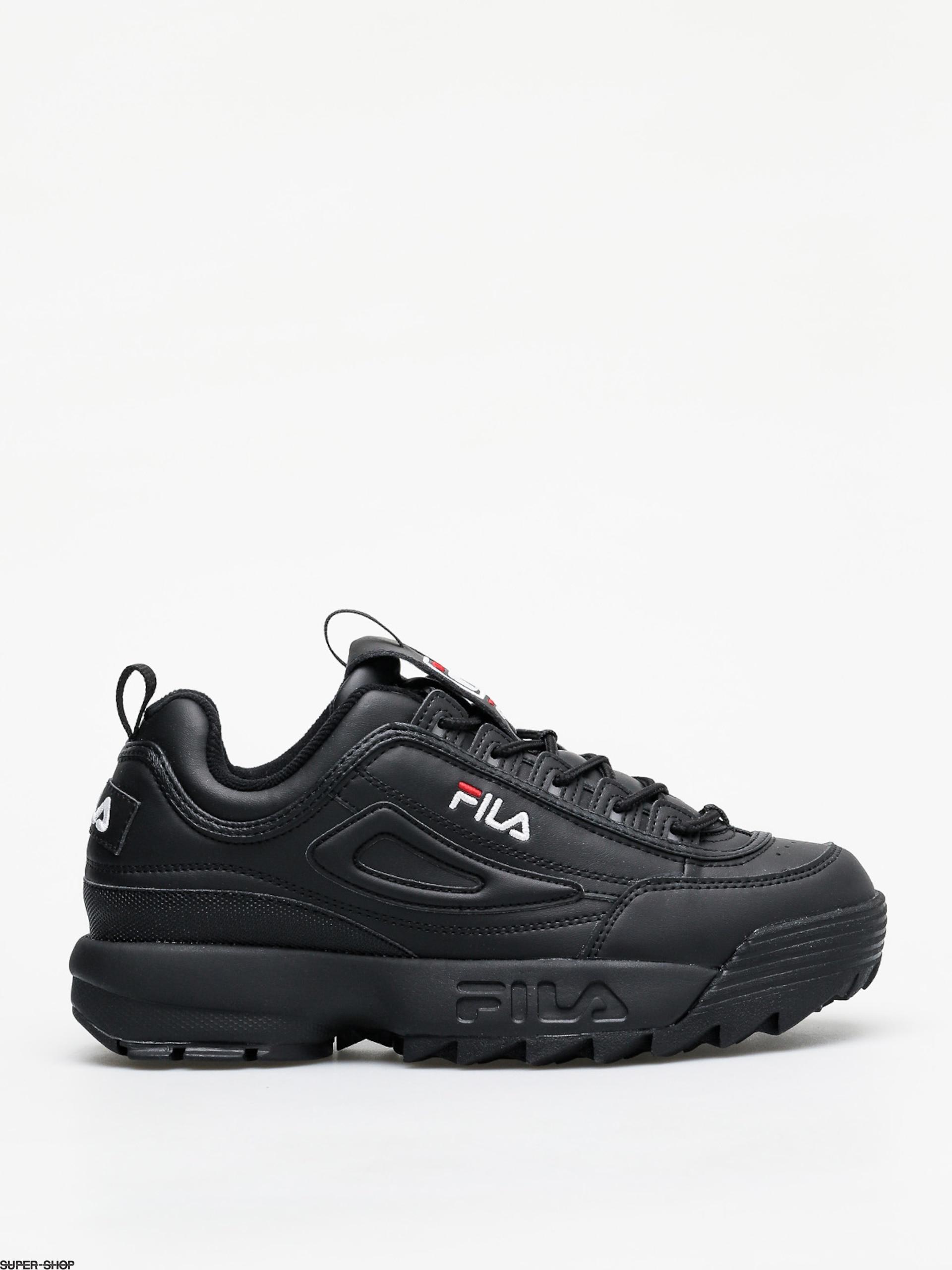 Fila Disruptor Low Shoes (black/black)