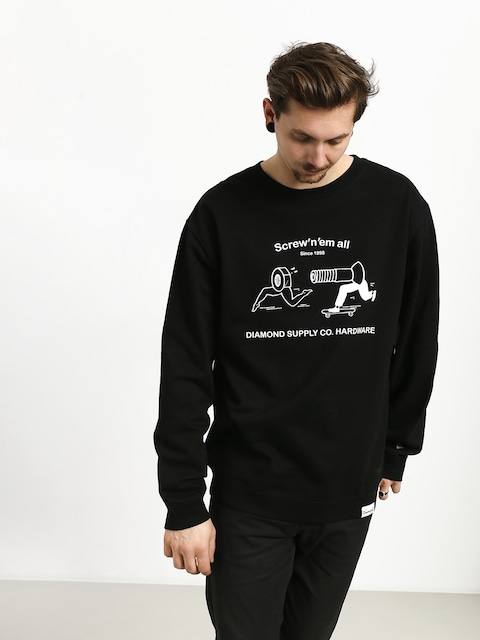 Diamond Supply Co. Screw N Em All Sweatshirt