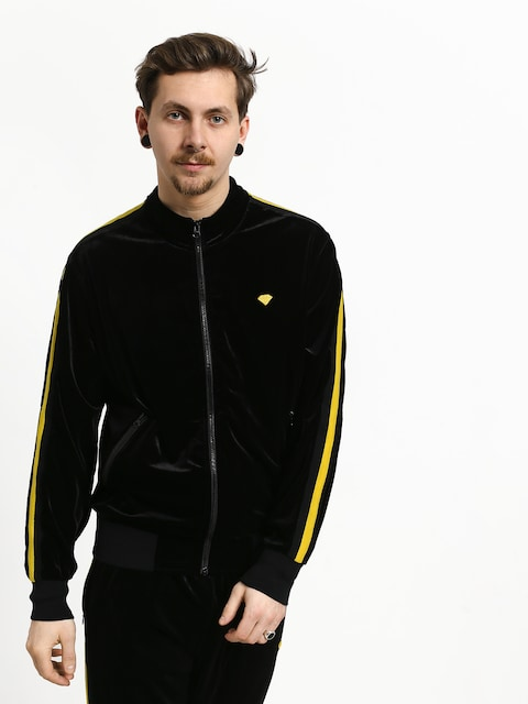 Diamond Supply Co. Brilliant Striped Track Jacket (black)