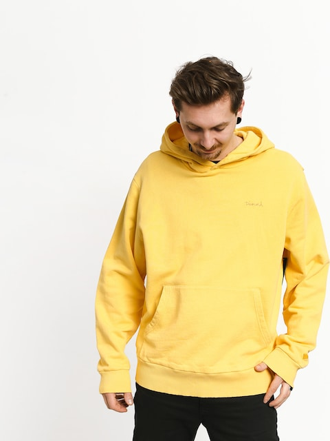 Diamond Supply Co. Brilliant Overdyed Oversized HD Hoodie