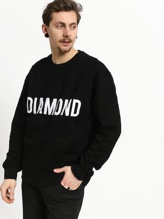Diamond Supply Co. Diamond Quilted Sweatshirt (black)