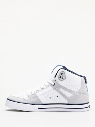 DC Pure Ht Wc Shoes (white/blue)