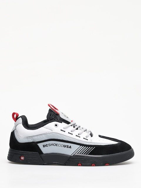 DC Legacy 98 Slim Shoes (black/white/red)