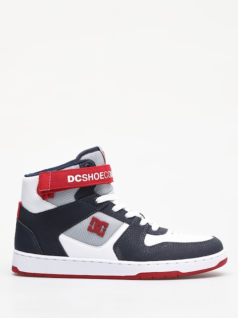 DC Pensford Shoes (white/navy/red)