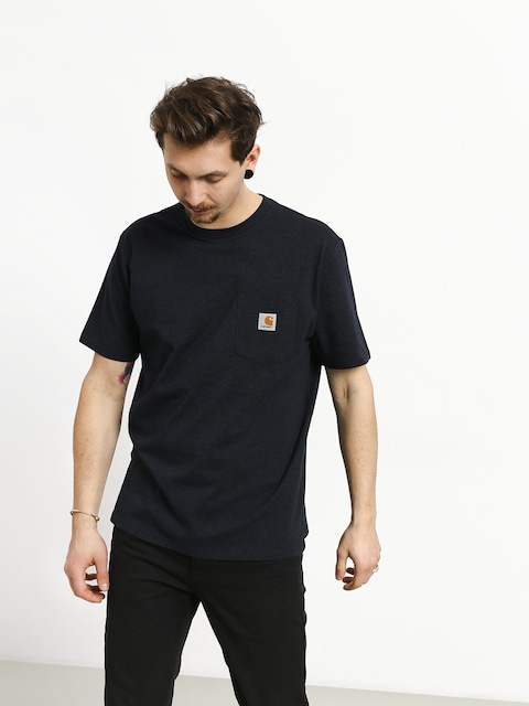 Carhartt WIP Pocket T-shirt (dark navy heather)