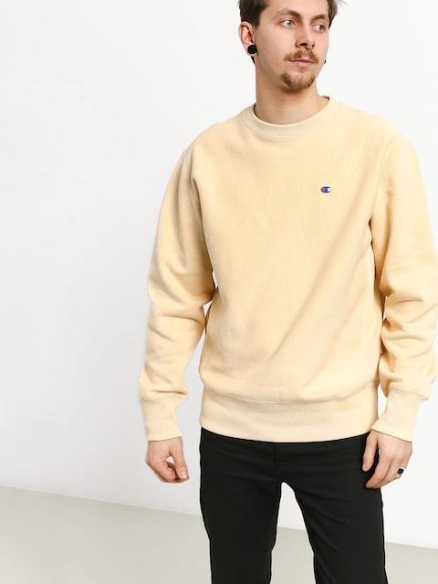 Champion Premium Reverse Weave Small Logo Crewneck Sweatshirt (wet)