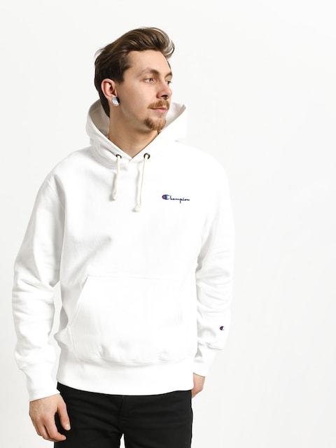 Champion Premium Reverse Weave Hooded Sweatshirt HD Hoodie (wht)