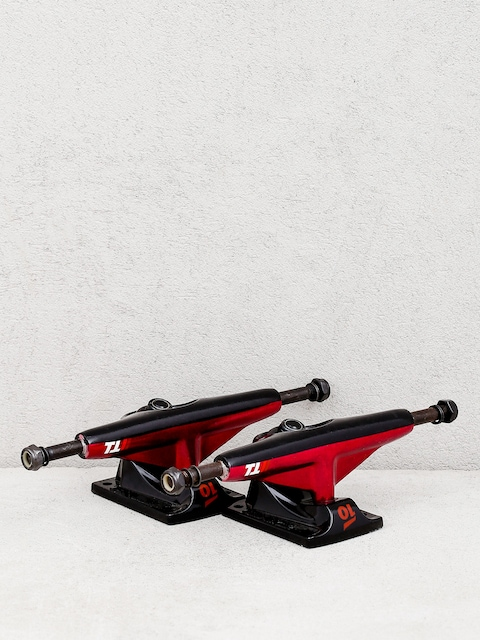 Tensor Alum Lo Split Trucks (reb/black)