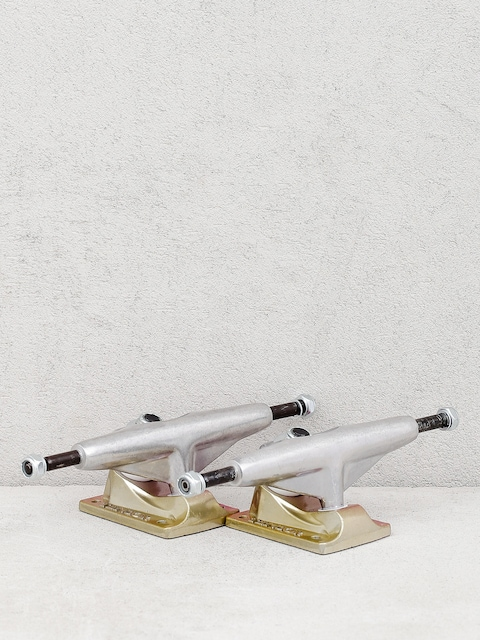 Tensor Alum Lo Sunset Fade Trucks (raw/ye/pnk)