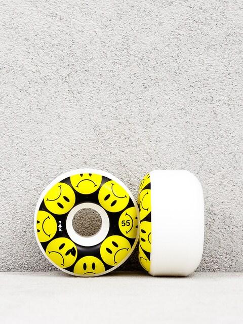 Enjoi Frowny Wheels (black/yellow)