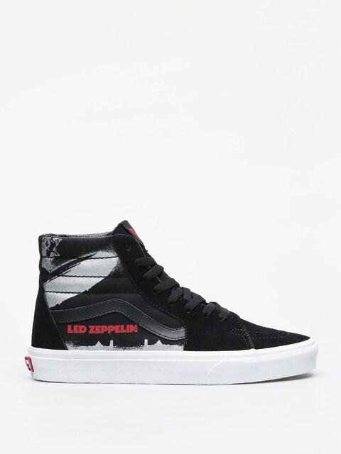 Vans Sk8 Hi Led Zeppelin Shoes (black/true white)