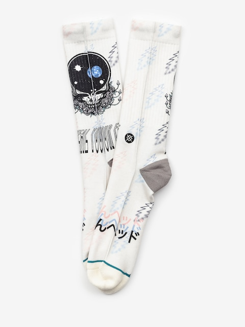 Stance Steal Your Face Socks (natural)