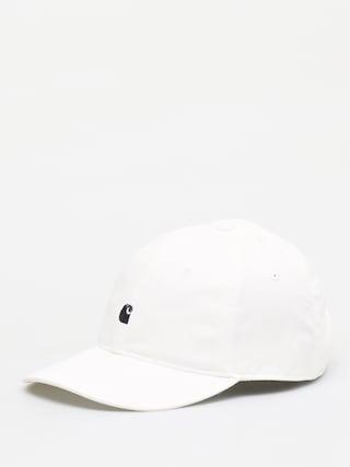 Carhartt WIP Madison Logo ZD Cap (white/dark navy)